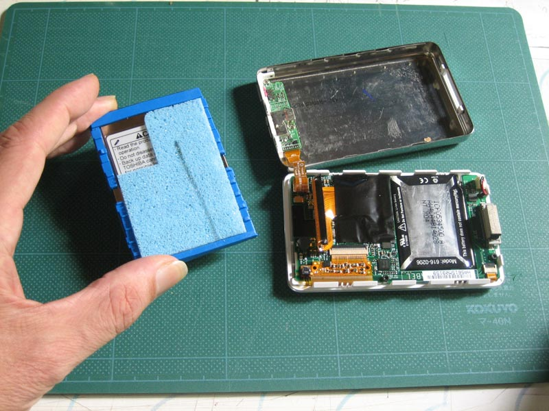 how to use ipod classic as hard drive