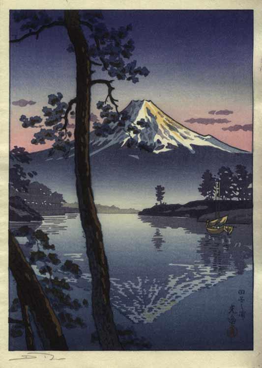 Fuji from Tago Bay